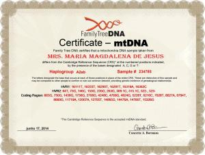 10_My_FTDNA_MT_DNA_Certificate_A2ab_Maria_Magdalena