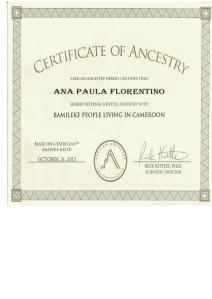 3_AfricanAncestry_Antonio _Y-DNA_E1b1a7a_Bamileke