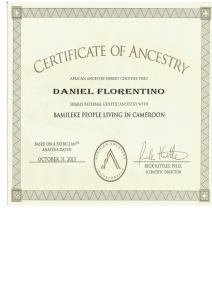 3_AfricanAncestry_Daniel _Y-DNA_Bamileke