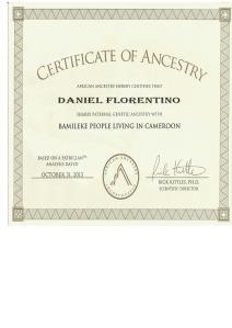 3_AfricanAncestry_Daniel _Y-DNA_Bamileke