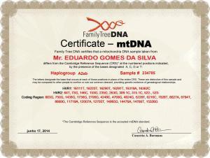 3_My_FTDNA_mtDNA_Certificate_Eduardo