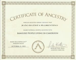 4_African_Ancestry_João _Y-DNA_Bamileke