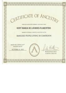 4_AfricanAncestry_Lourdes _Y-DNA_E1b1a7a_Bamileke